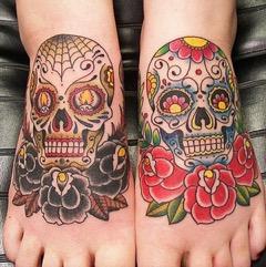 Tattoos: Skulls to Wear