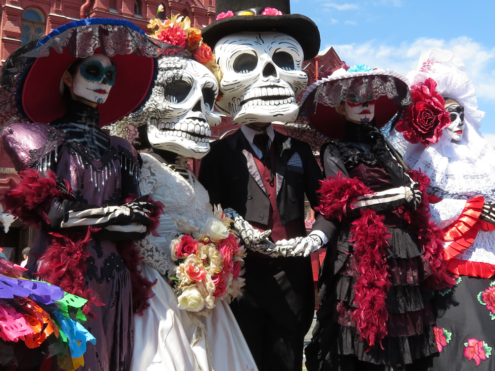 Day of the Dead Skull Characters
